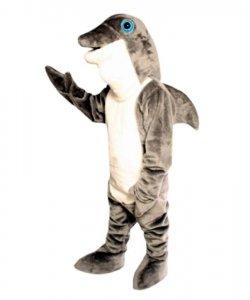 Strój chodzącej maskotki - Delfin Ciemny