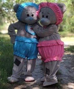 Strój chodzącej maskotki - Baby Bear
