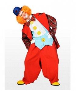 Profesjonalny strój klauna - Klaun Benio