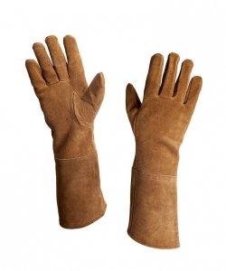Rękawice - Zamsz Jasny Brąz