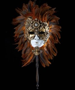 Maska wenecka - Inca & Stick