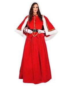 Świąteczny kostium teatralny - Pani Mikołajowa Deluxe