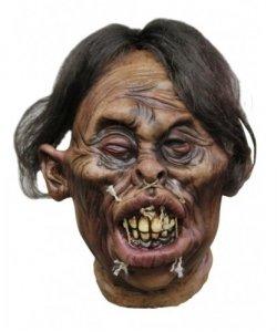 Dekoracja na Halloween Miniaturowa głowa Tsantsa Miguel