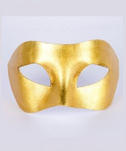 Maska wenecka - Colombina Piana Gold
