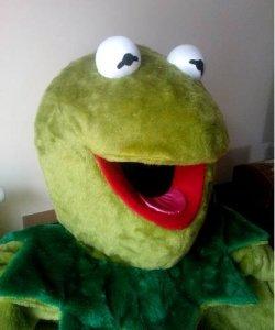 Chodząca maskotka - Kermit