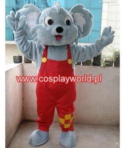 Chodząca maskotka - Koala w ogrodniczkach