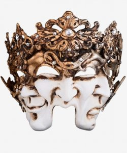 Maska wenecka - Three Faces