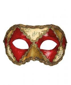 Maska wenecka - Colombina Scacchi IV