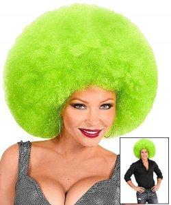 Peruka Afro - XXL Green