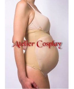 Sztuczny brzuch ciążowy - Silikon Pregnancy (5-6 miesiąc ciąży)