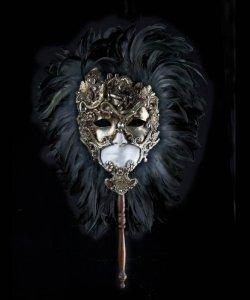 Maska wenecka - Nazca & Stick