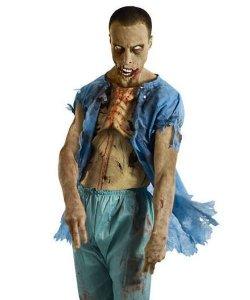 Kostium z filmu The Walking Dead - Pacjent Zombie