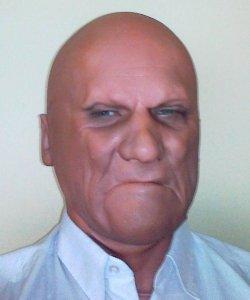 Maska lateksowa - Zutro
