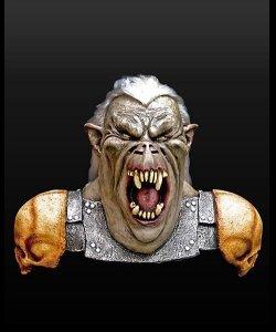 Maska lateksowa - Władca Pierścieni Ork Wojownik