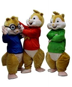 Chodzące maskotki - Trzy Wiewiórki