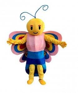 Strój chodzącej maskotki - Motyl