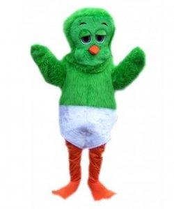 Strój reklamowy - Zielony Kurczak