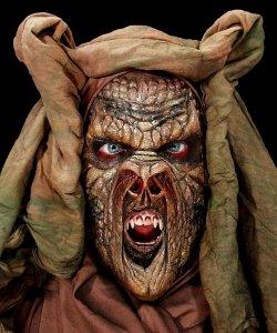 Maska klejona na twarzy - Zmora Deluxe