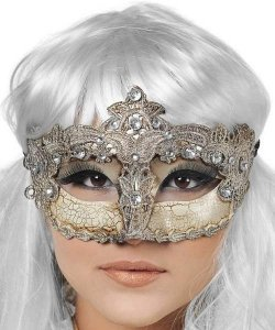 Maska wenecka - Colombina Venezia