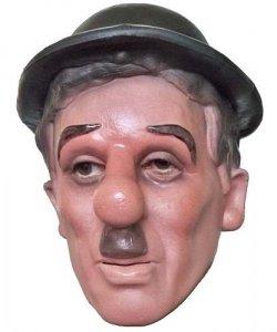 Maska lateksowe - Charlie Chaplin