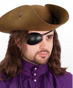 Akcesoria do kostiumu - Przepaska Na Prawe Oko Pirata