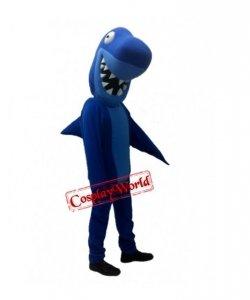 Strój chodzącej maskotki - Blue Shark