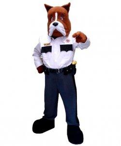 Strój chodzącej maskotki - Pies Ochroniarz
