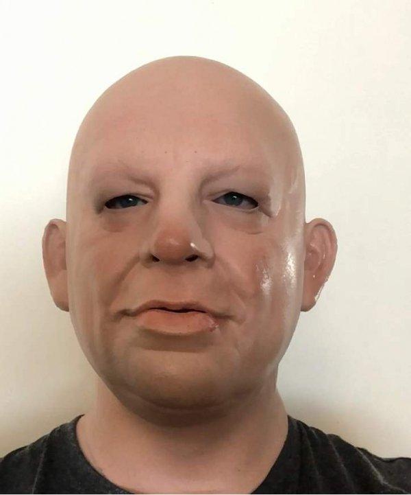 Skup Jack realistyczne zdjęcie z twarzy staruszka