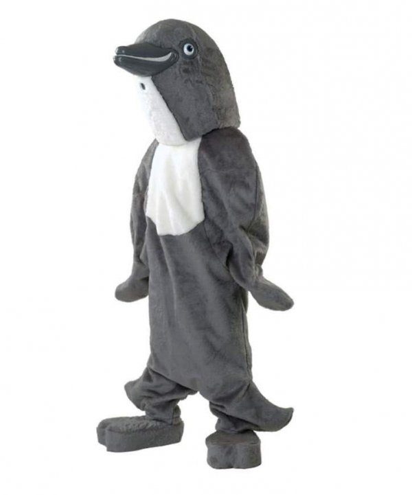 Delfinek szary - kostium dla animatora