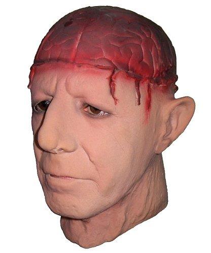 Maska lateksowa - Mr. Mózg