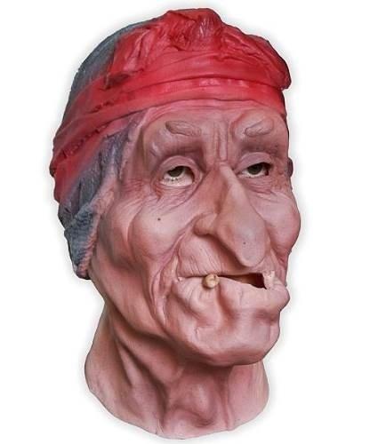 Maska lateksowa - Baba Jaga