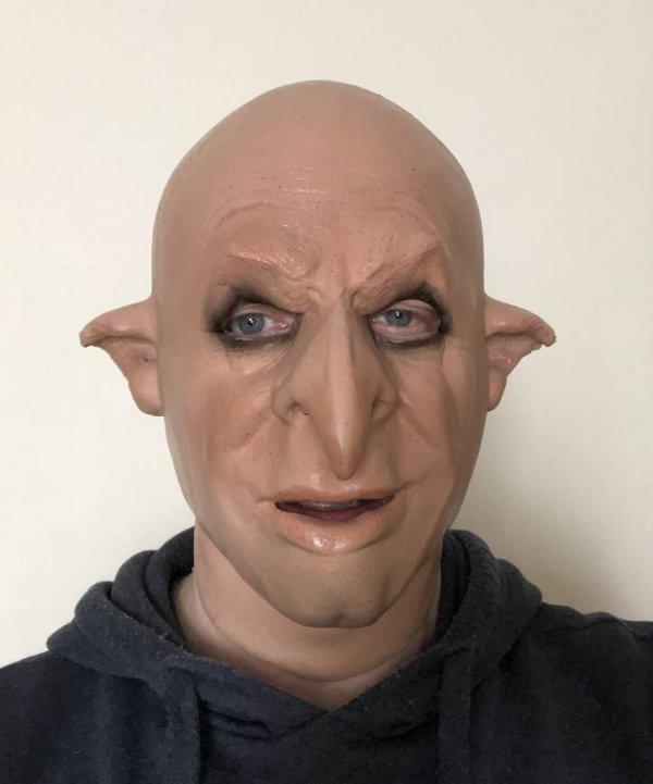 Maska z lateksu Ork Kulfon