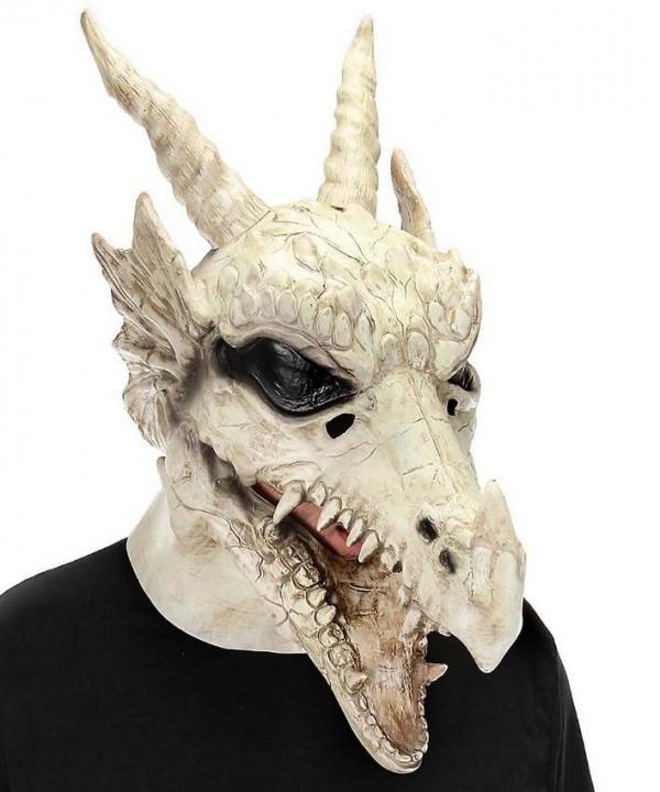Maska -głowa smoka