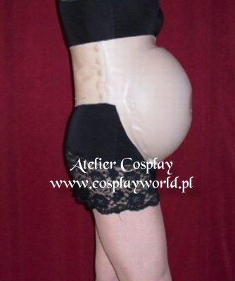 Sztuczny brzuch ciążowy - 6-7 miesiąc