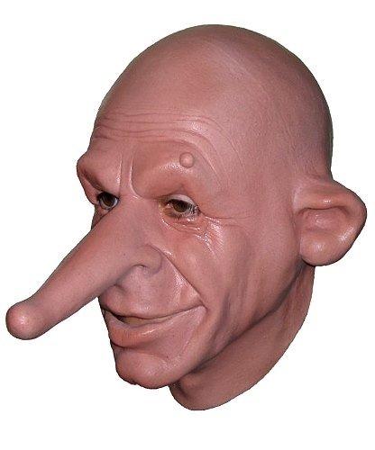 Maska lateksowa - Kłamczuch