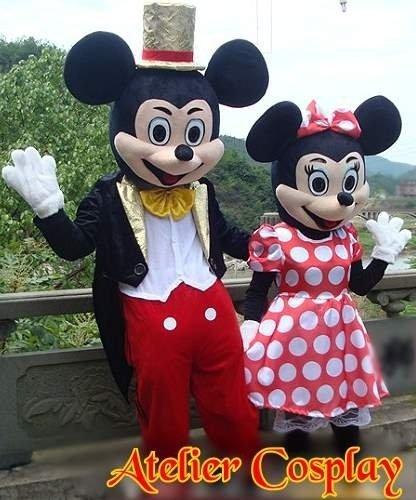 Maskotki reklamowe - Miki & Minnie Gold Karnivale