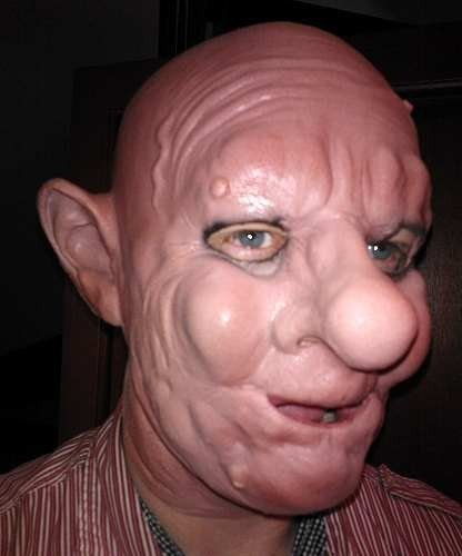 Maska lateksowa - Leopold