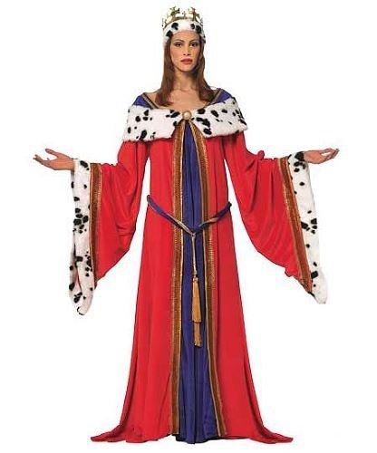 Kostium - Średniowieczna Królowa