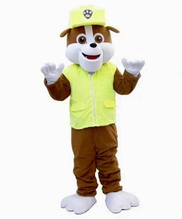 Chodząca żywa maskotka duży pluszak kostium reklamowy strój Rubbie Paw Patrol Buldog