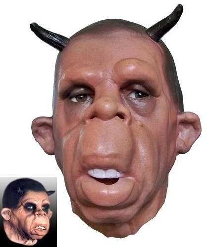 Maska lateksowa - Diabełek