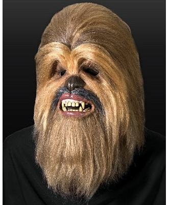 Maska lateksowa - Star Wars Chewbacca Deluxe