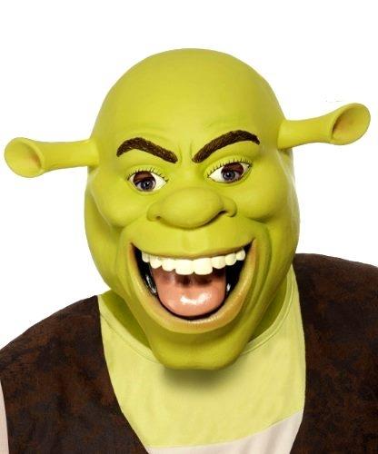 Maska lateksowa - Shrek