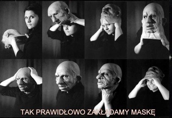 Jak zakładać maskę