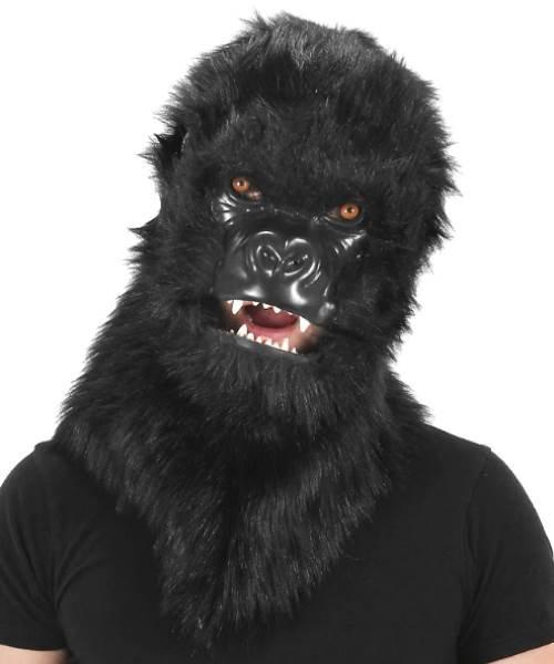 Maska lateksowa - Goryl Futrzak