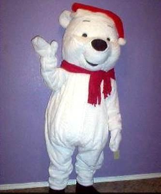 Strój chodzącej maskotki - Miś Polarny Puchatek