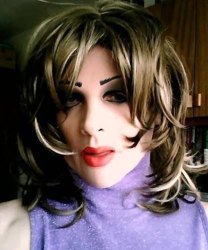 Maska lateksowa - Francesca