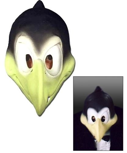 Maska lateksowa - Kruk