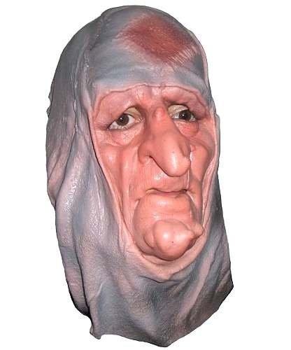 Maska lateksowa - Babunia