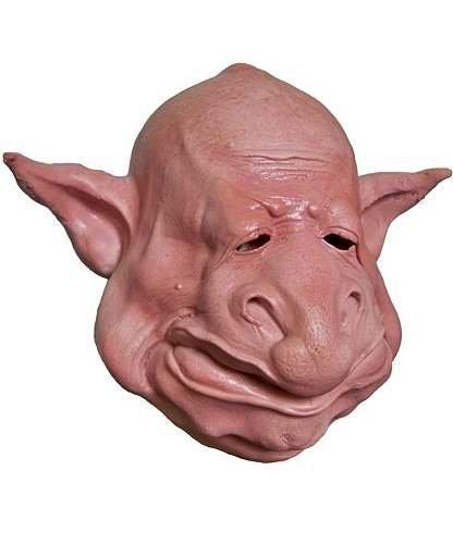 Maska lateksowa - Kreatura z kosmosu