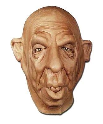 Maska lateksowa - Pijaczek